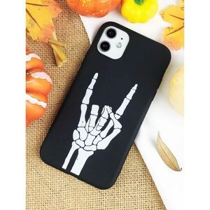 Rock N Roll Skeleton Hand iPhone 11 Pro Max Case🖤